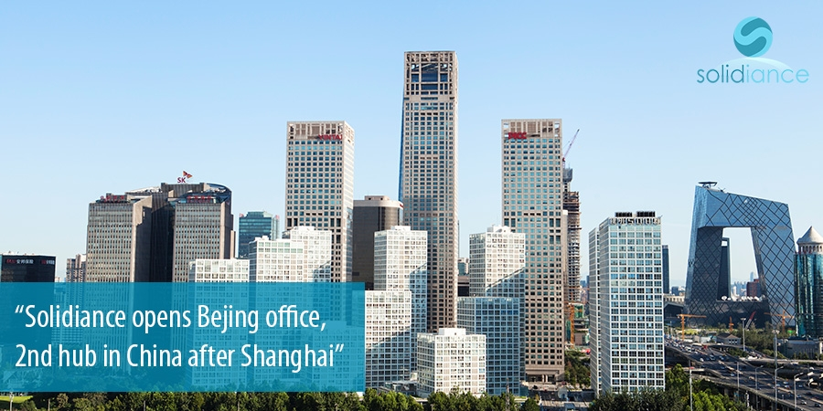 Solidiance opens new office in Bejing