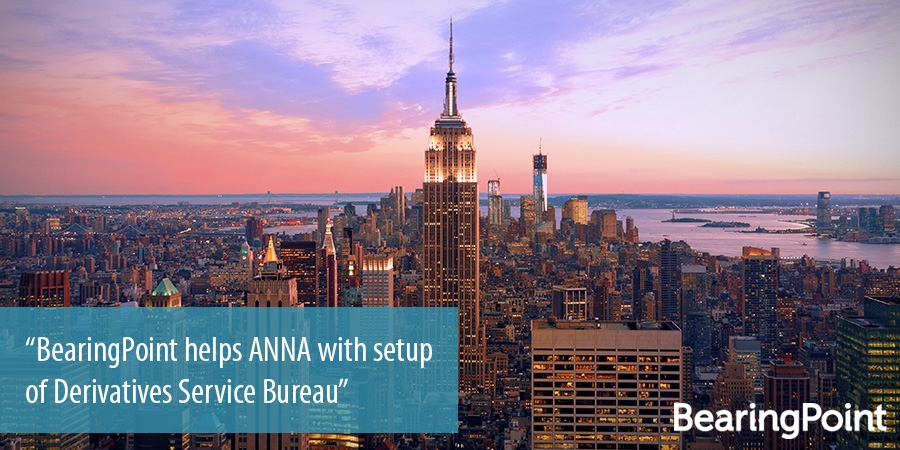 BearingPoint helps ANNA with setup of Derivatives Service Bureau