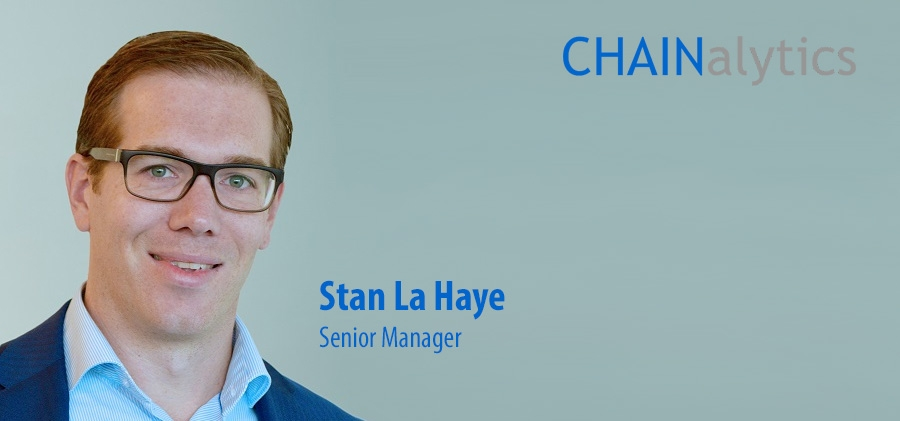 Stan La Haye joins Chainalytics