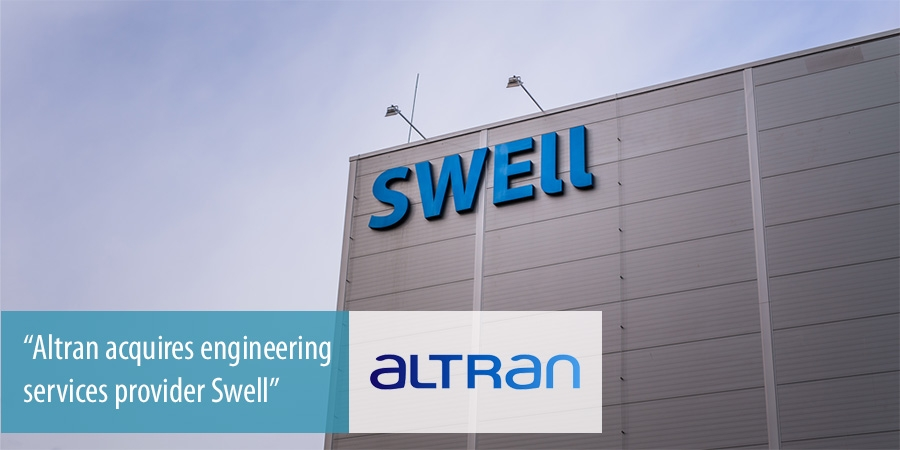 Altran buys Swell, Czech Republic based automotive engineer