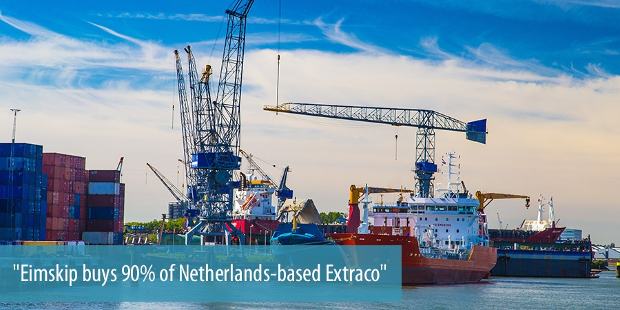 Eimskip buys 90 of Netherlands-based Extraco
