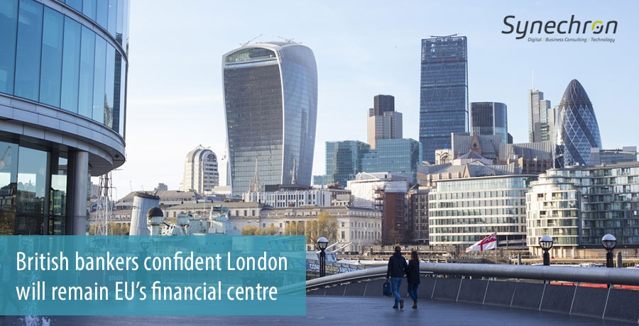 British bankers confident London will ramain EUs financial centre