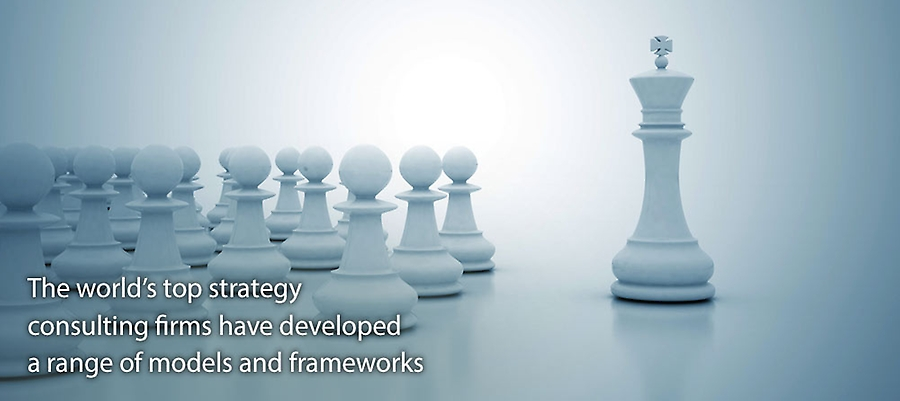 Top strategy consulting firms have developed a range of models and frameworks