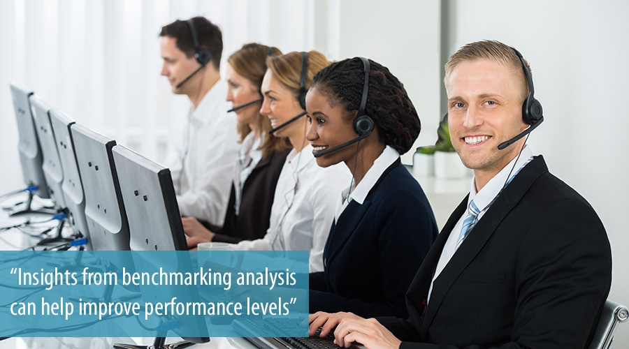 Insights from benchmarking analysis can help improve performance levels