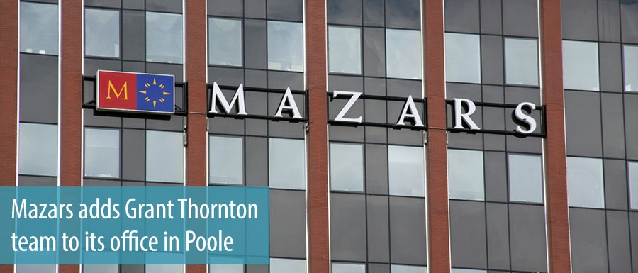 Mazars adds Grant Thornton team to its office in Poole