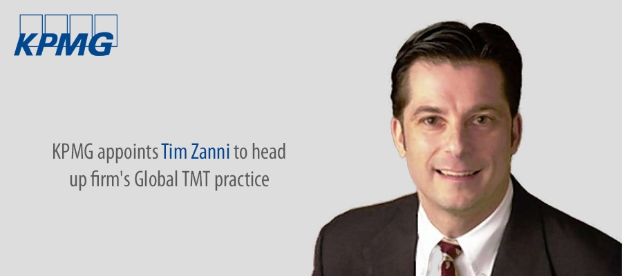 KPMG appoints Tim Zanni to head up firm's Global TMT practice