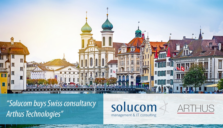 Solucom buys Swiss consultancy Arthus Technologies