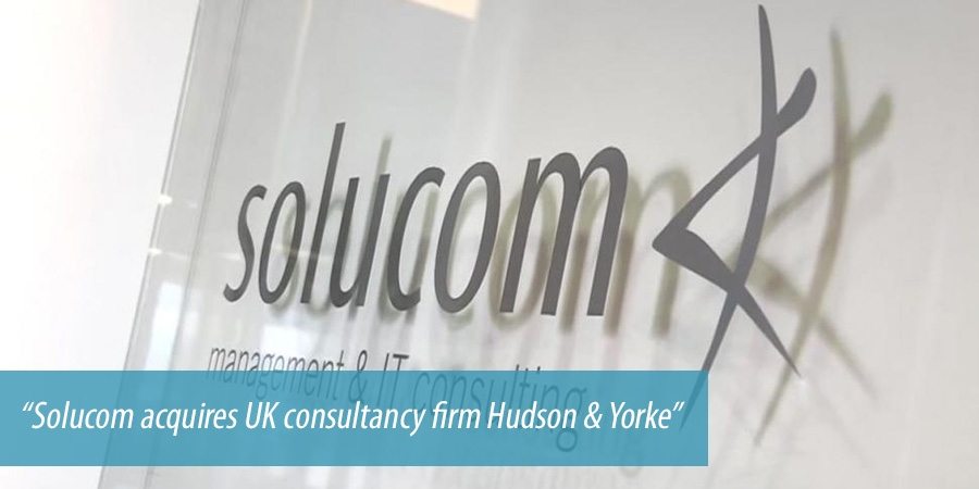 Solucom acquires UK consultancy firm Hudson & Yorke