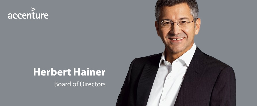 Former Adidas CEO Herbert Hainer joins Accenture Board of