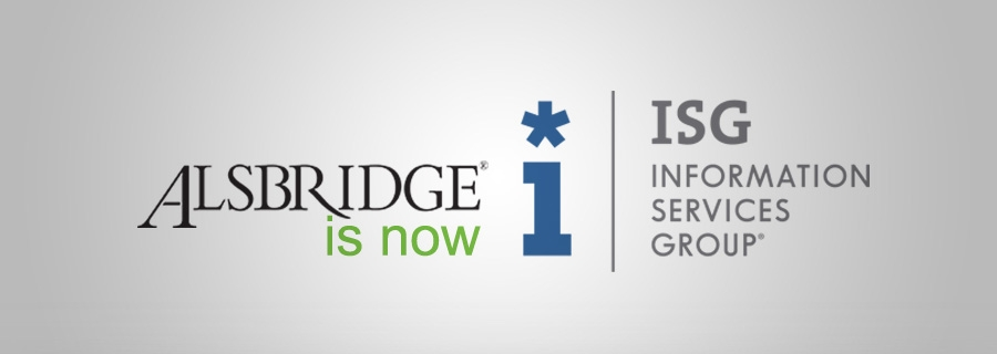 Alsbridge is now ISG