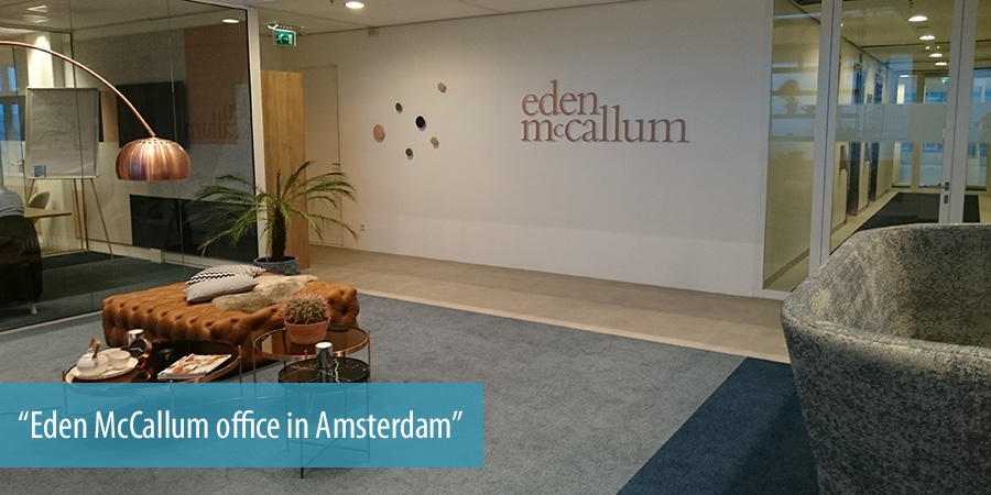Eden McCallum office in Amsterdam