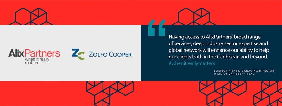 Caribbean practice of Zolfo Cooper affiliates with AlixPartners