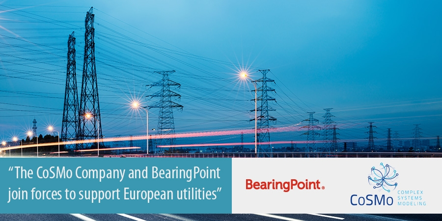 The CoSMo Company and BearingPoint join forces to support European utilities