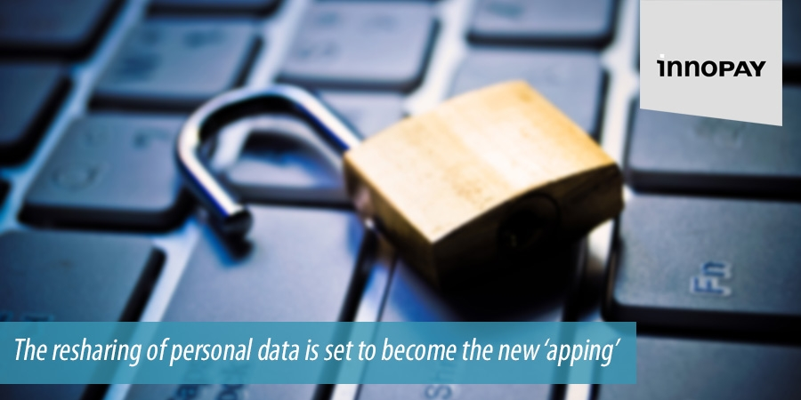 Resharing of personal data set to become the new apping