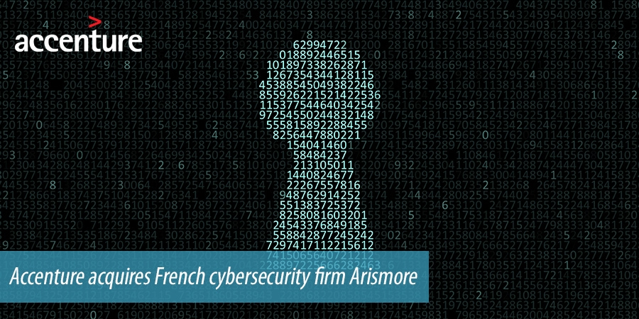 Accenture acquires French cybersecurity firm Arismore