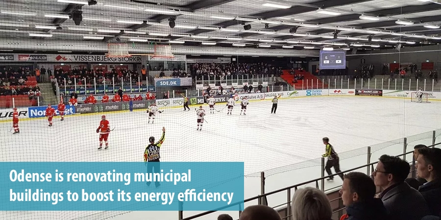 Odense is renovating municipal buildings to boost its energy efficiency