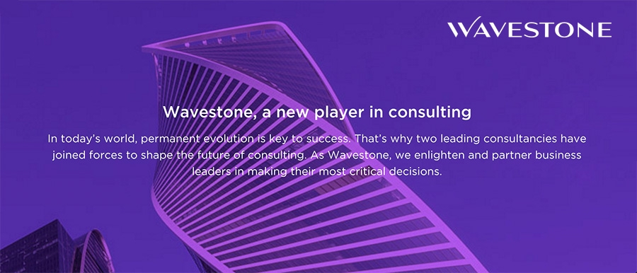 Wavestone - a new player in consulting