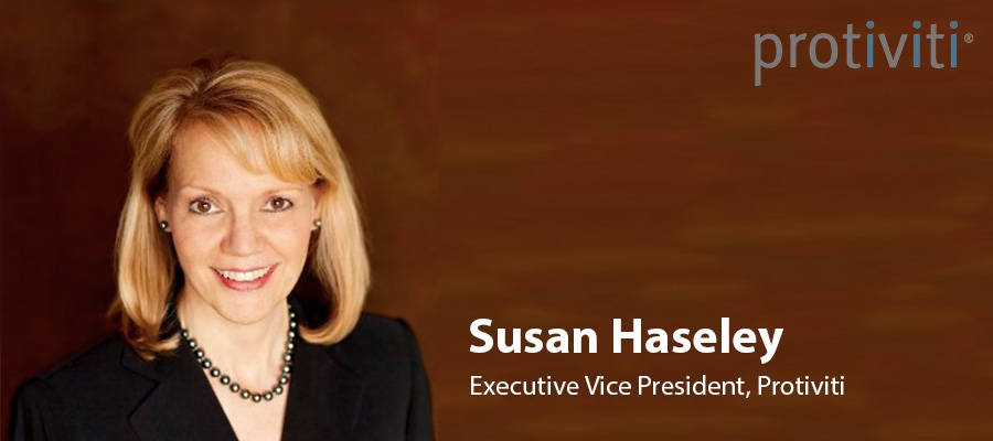 Protiviti promotes Susan Haseley to Executive Vice President