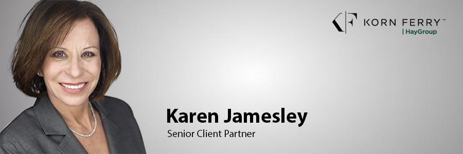 Morgan Stanley executive Karen Jamesley joins Korn Ferry Hay