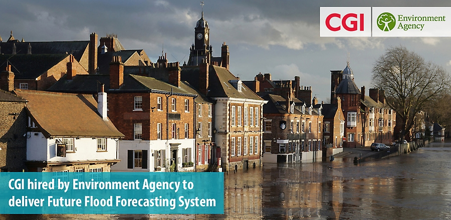 CGI hired by Environment Agency to deliver Future Flood Forecasting System