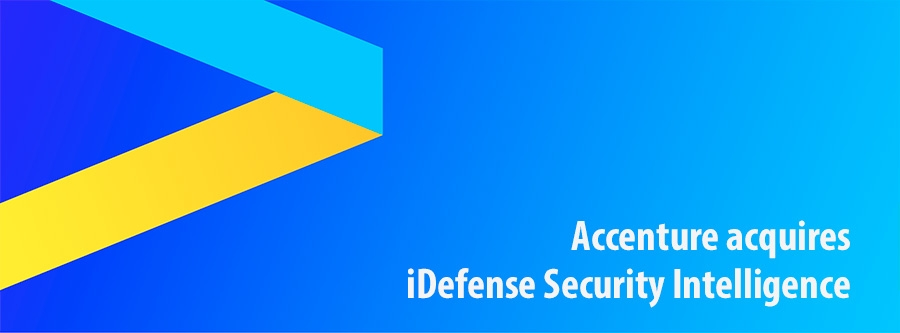 Accenture acquires iDefense Security Intelligence