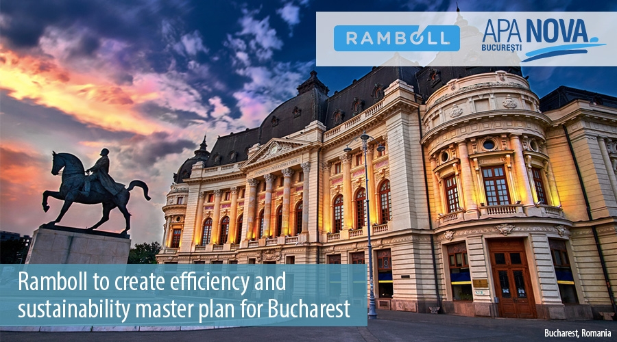 Ramboll to create efficiency and  sustainability master plan for Bucharest