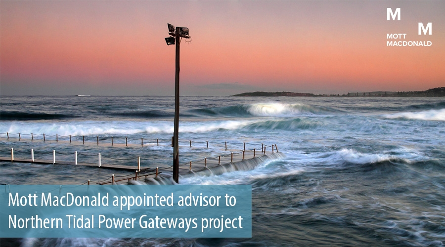 Mott MacDonald appointed advisor to Northern Tidal Power Gateways