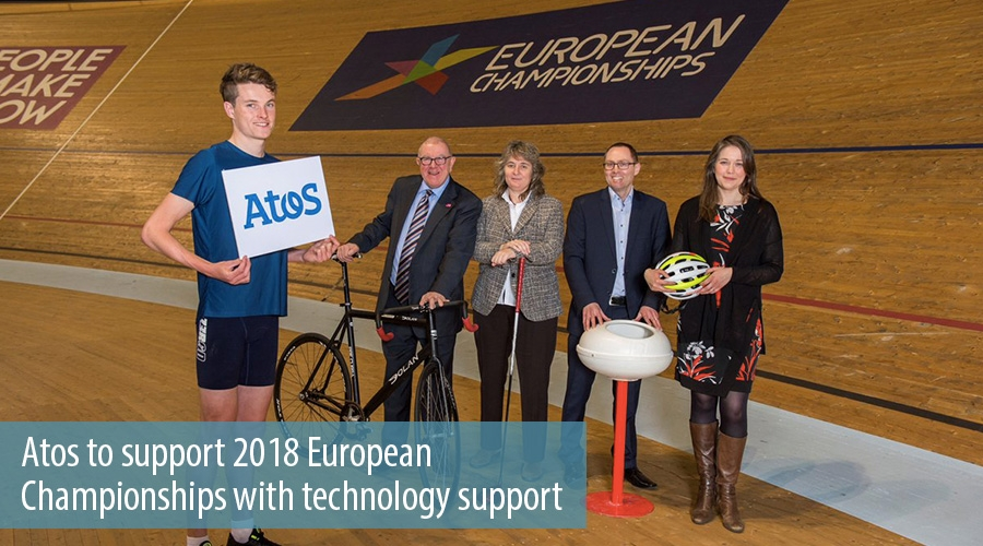 Atos to support 2018 European  Championships with technology support