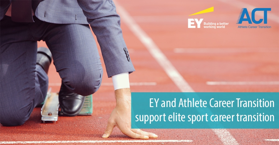 EY and Athlete Career Transition support elite sport career transition