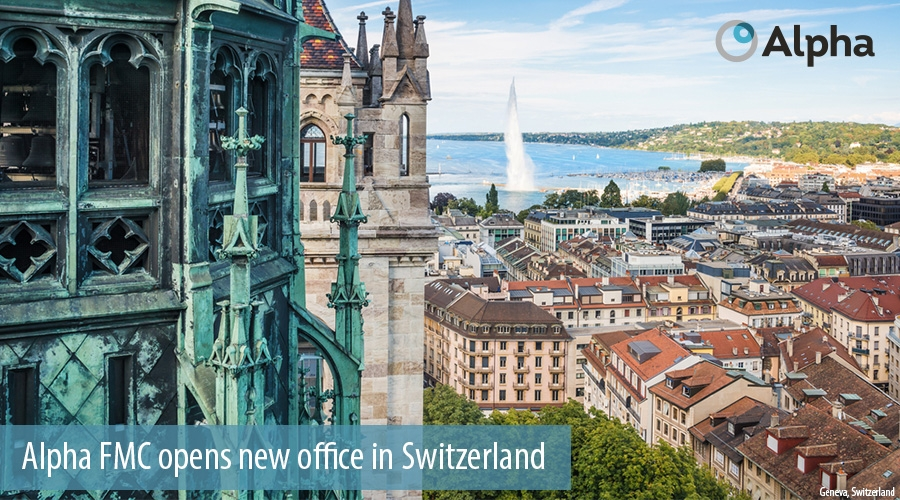 Alpha FMC opens new office in Switzerland