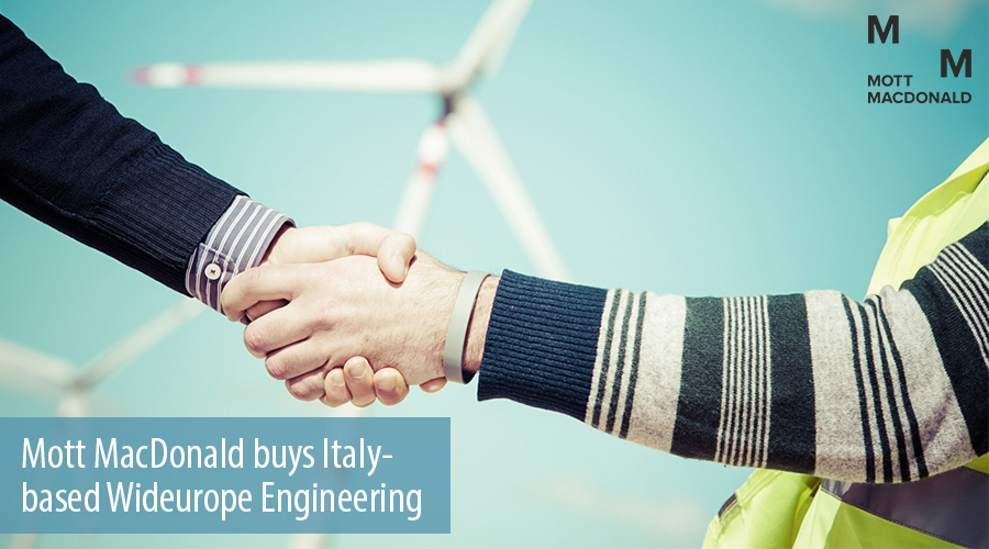 Mott MacDonald buys Italy- based Wideurope Engineering