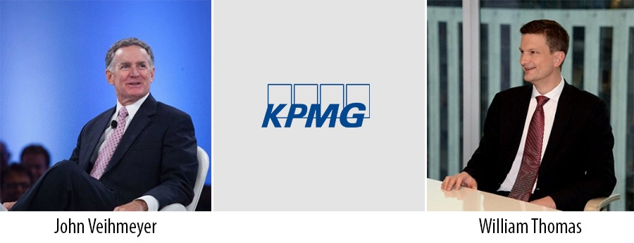 John Veihmeyer and William Thomas - KPMG