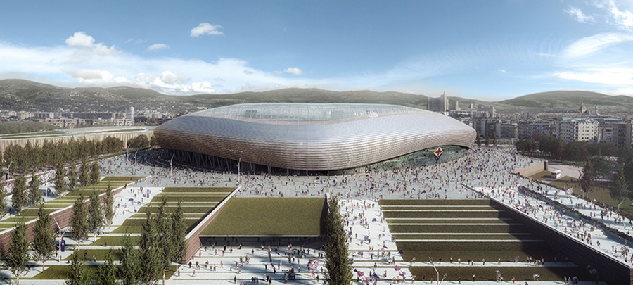 Arup designs new Stadio Artemio Franchi area upgrade