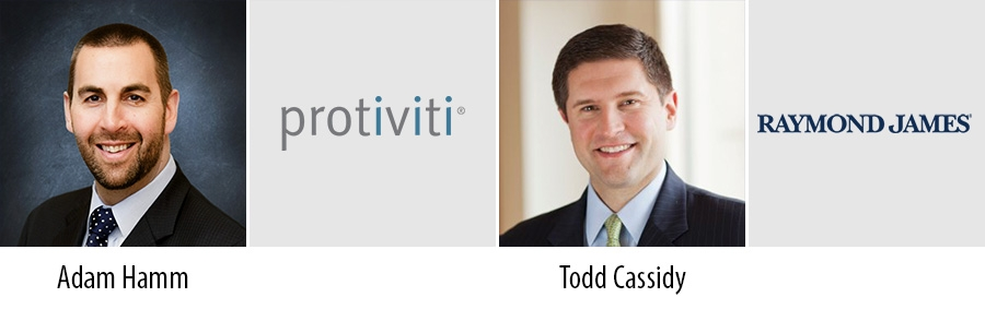 Adam Hamm - Protiviti and Todd Cassidy - Raymond James