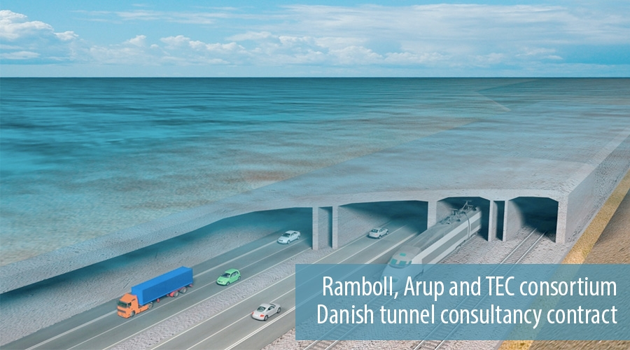 Ramboll, Arup and TEC consortium Danish tunnel consultancy contract