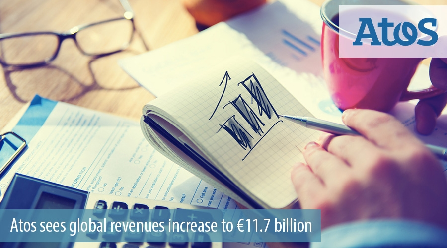 Atos sees global revenues increase to €11.7 billion
