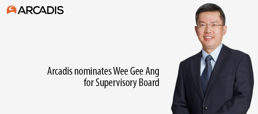 Arcadis nominates Wee Gee Ang for Supervisory Board