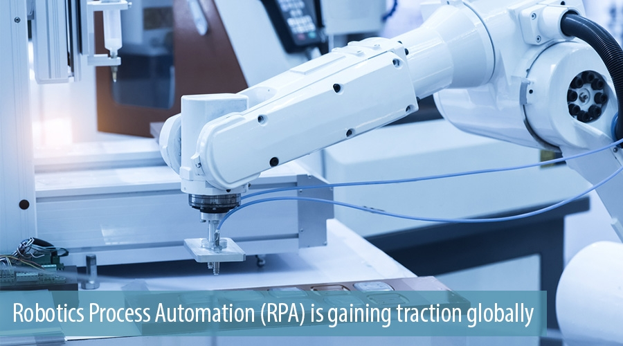 Robotics Process Automation (RPA) is gaining traction globally