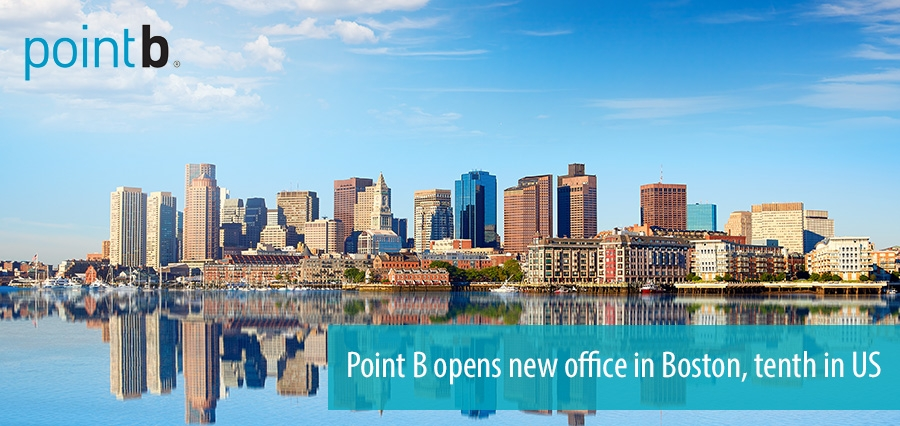Point B opens new office in Boston, tenth in US