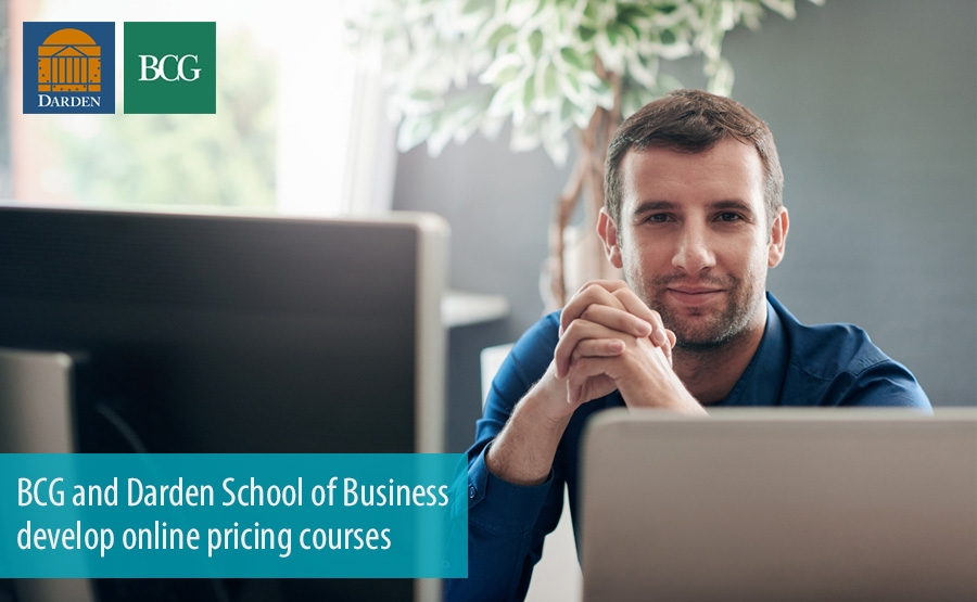 BCG and Darden School of Business develop online pricing courses