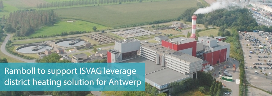Ramboll to support ISVAG leverage district heating solution for Antwerp
