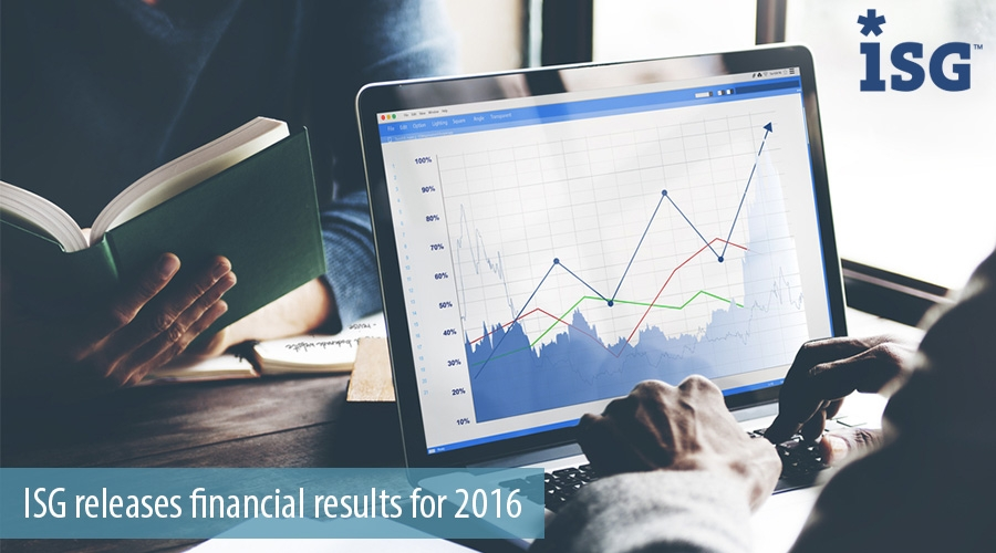 ISG releases financial results for 2016