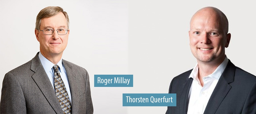 Roger Millay CFO retires from Willis Towers Watson and Thorsten Querfurt joins as Global Industry Leader of the firm's Natural Resources segment