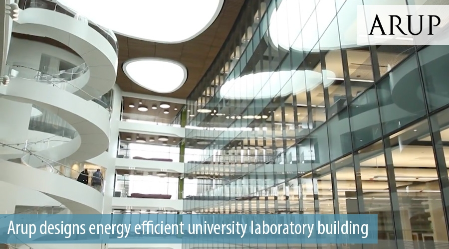 Arup designs energy efficient university laboratory building