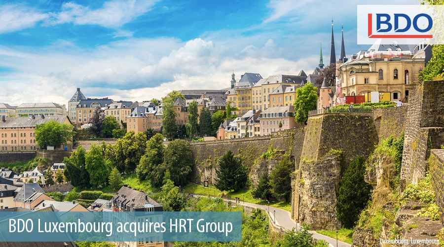 BDO Luxembourg acquires HRT Group
