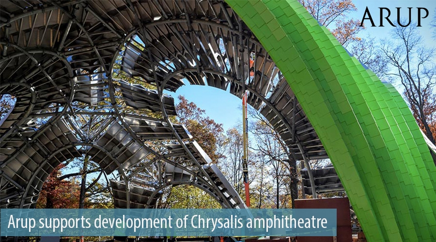 Arup supports development of Chrysalis amphitheatre