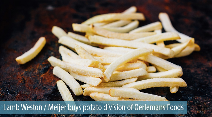 Lamb Weston / Meijer buys potato division of Oerlemans Foods