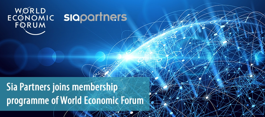 Sia Partners joins membership programme of World Economic Forum