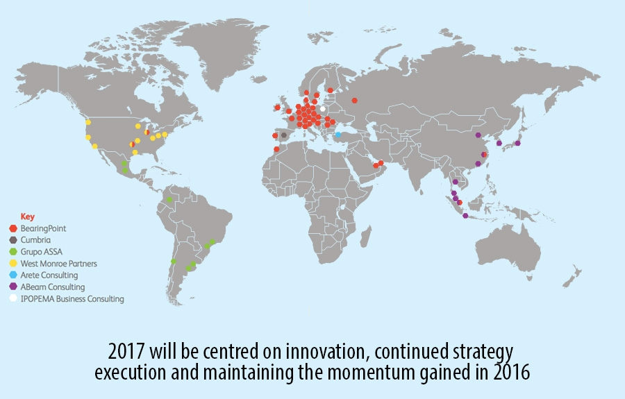 BearingPoint offices globally