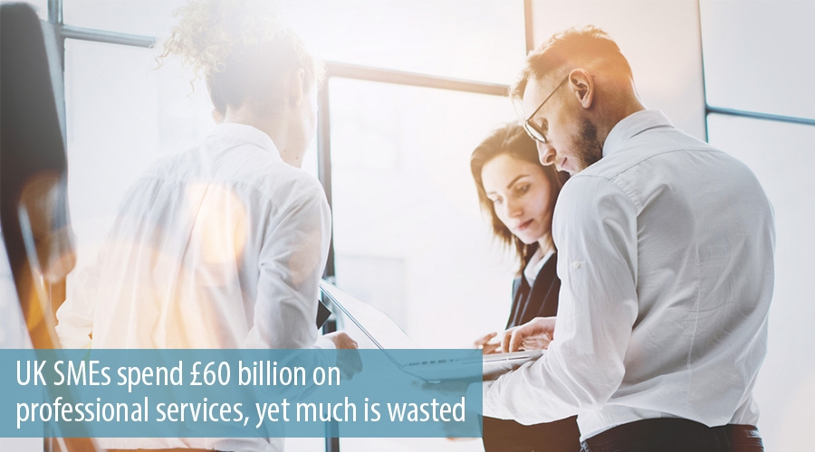 UK SMEs spend £60 billion on professional services, yet much is wasted